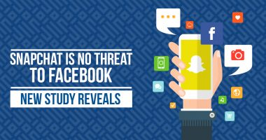 Snapchat is No Threat to Facebook - New Study Reveals
